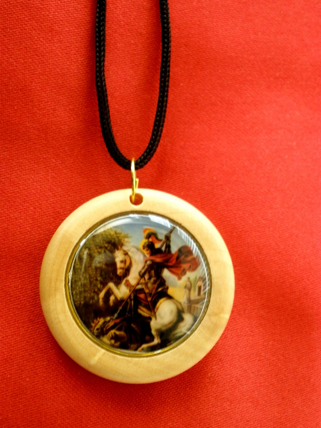 Icon Olive wood Necklace