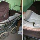 SILVER CROSS Pram Stroller Antique - Made in England