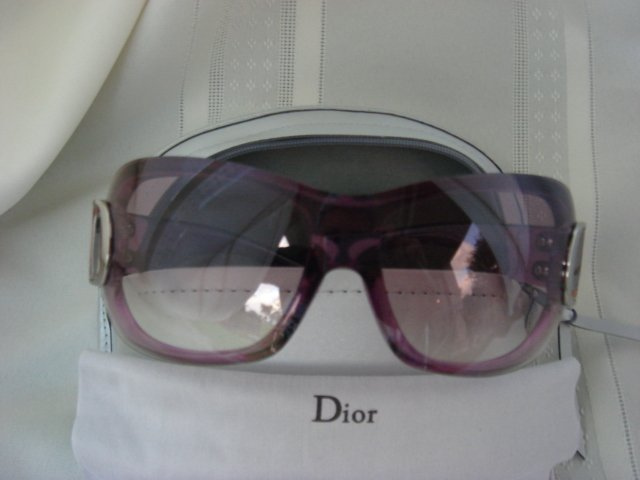 Christian Dior Lucite Airspeed Sunglasses