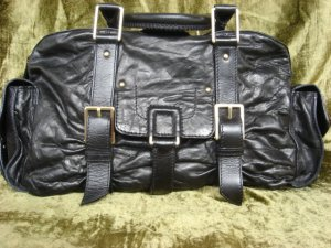Botkier Black Leather Satchel
