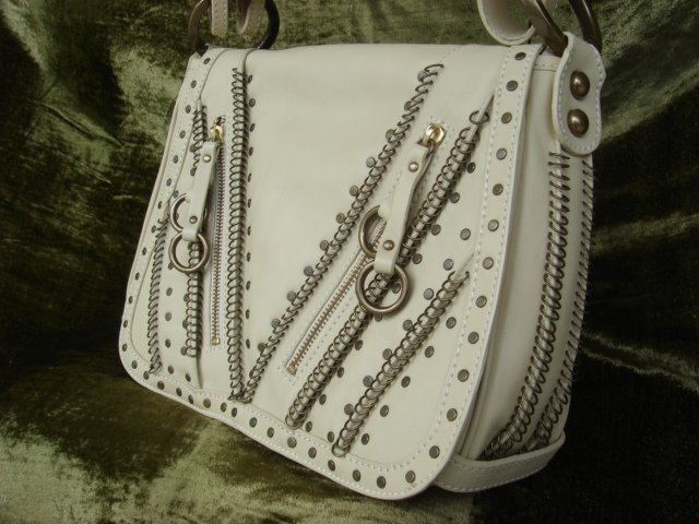 Isabella Fiore Cream Leather $560