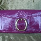 COACH  Patent Leather Bleeker Slim Envelope 41557