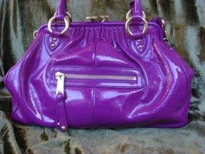 Marc Jacobs Violet Patent Leather Stam $1,350++