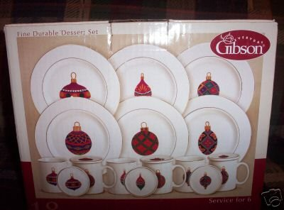 West Cliff 18 piece Dessert Set