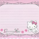 Charmmy Kitty Memo Sheets