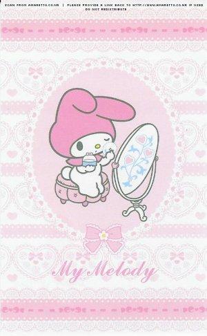 My Melody Lace Memo Sheets