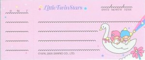 Little Twin Stars Cheque Memo Sheets