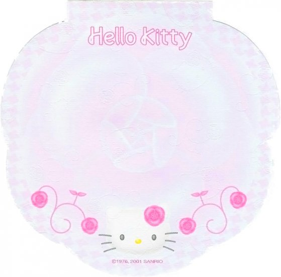 *Very Rare* Hello Kitty Embossed Camellia Memo Sheets