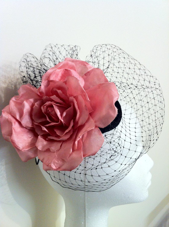 Stunning Pink Fascinator Headpiece