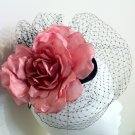 Stunning Pink Fascinator Headpiece