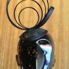 Black Satin Loops Headpiece Fascinator