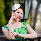Vintage Style Bridal Fascinator Headpiece Headdress