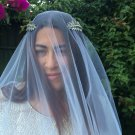 Crown, Roman Tiara, Bridal Hair Accessory, Greek Goddess Headband, Bridal Tiara