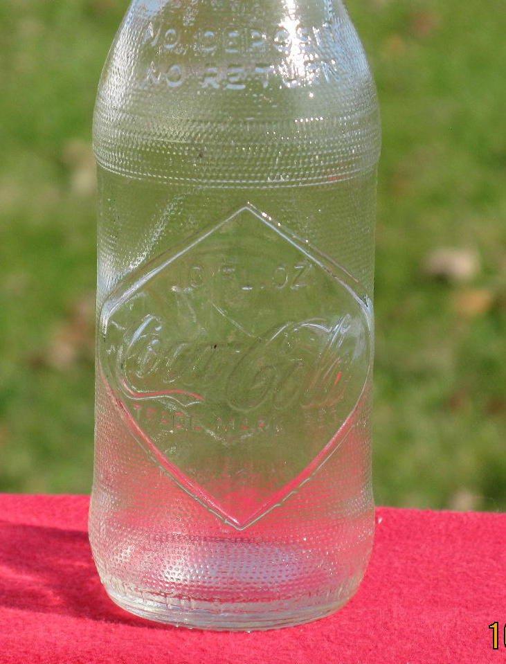Coca Cola  Oz Glass Bottle