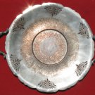 Vintage Silver Tray Made by Monarch Plate Brand- Lead MTS