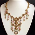 Vintage Victorian Revival Statement Necklace