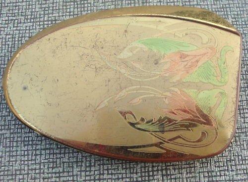 Vintage Elgin American Compact Mirror Pat Pending