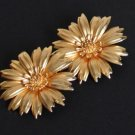 Vintage Blooming Daisy Flower Earrings
