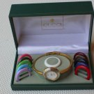 Vintage Gucci Multi Color Bezel Lady Watch