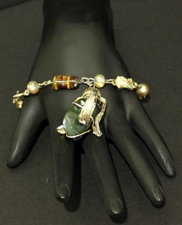 Vintage Art Deco Era Super Chunky Necklace/Pendant
