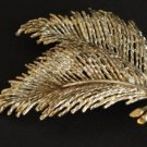 Unique Vintage Palm Leaf Pin/Brooch