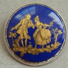 Vintage Purple Cameo Pin/Brooch