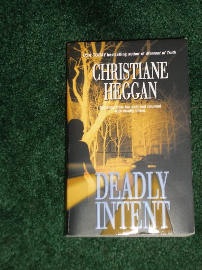 Christiane Heggan DEADLY INTENT Romantic Suspense PB 2003