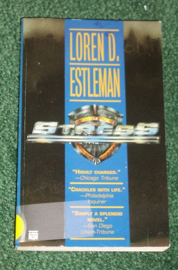 STRESS by LOREN D. ESTLEMAN Mystery Press PB 1996