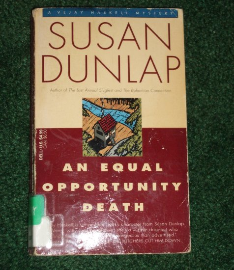 An Equal Opportunity Death by SUSAN DUNLAP A Vejay Haskell Mystery PB 1994