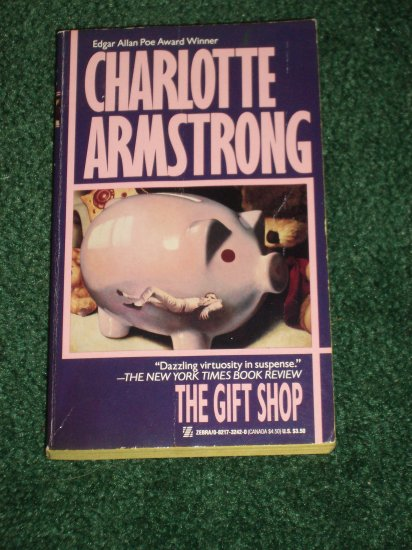 The Gift Shop by CHARLOTTE ARMSTRONG Edgar Allan Poe Award Winner Mystery PB 1990