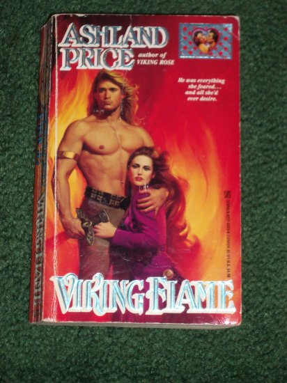 Viking Flame by ASHLAND PRICE Zebra Lovegram Historical Medievel Romance 1993