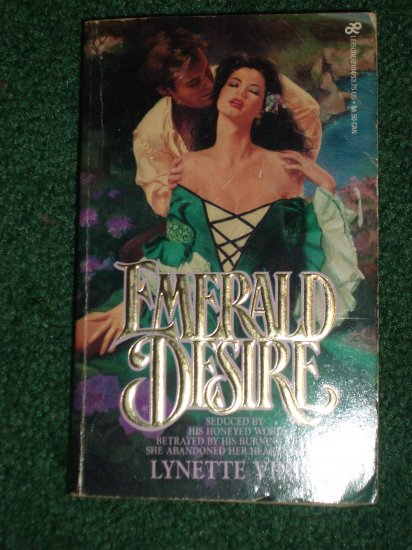 Emerald Desire by Lynette Vinet Historical Irish Romance 1985