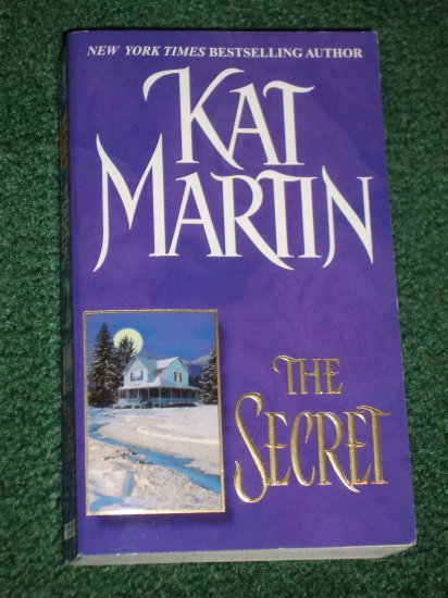 The Secret by KAT MARTIN Romantic Suspense Zebra 2001 1st Paperback Edition