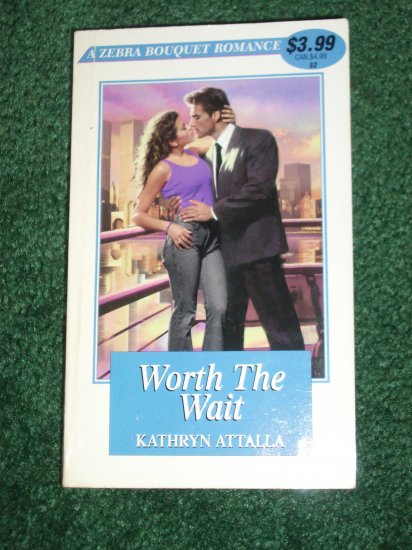 Worth the Wait by KATHRYN ATTALLA Zebra Bouquet #52 Romance 2000