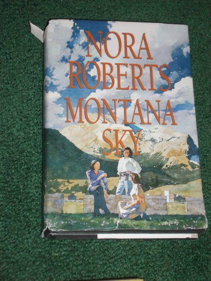Montana Sky by Nora Roberts Hardcover Dust Jacket 1996
