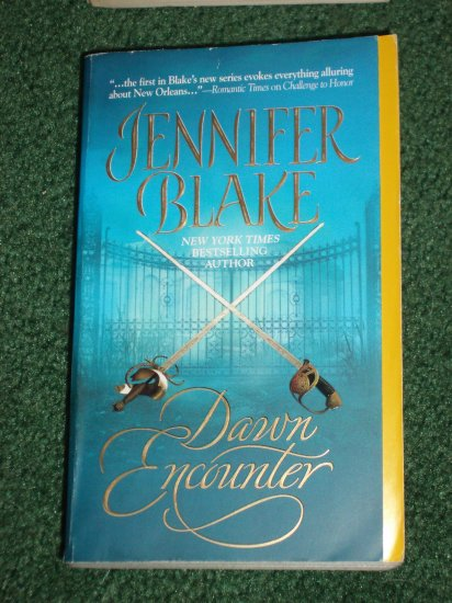 Dawn Encounter by JENNIFER BLAKE Historical Victorian Romance PB 2006