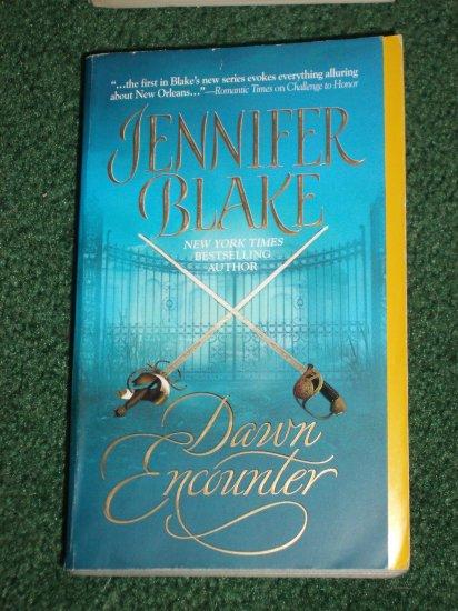 Dawn Encounter by JENNIFER BLAKE Historical Victorian Romance PB 2006