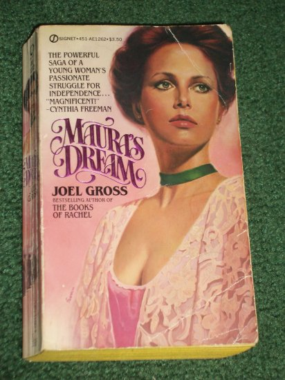 Maura's Dream by JOEL GROSS Historical Turn of the Century Romance 1982
