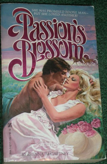 Passion's Blossom by BRENNA McCARTNEY Zebra Historical Arranged Marriage Romance 1982