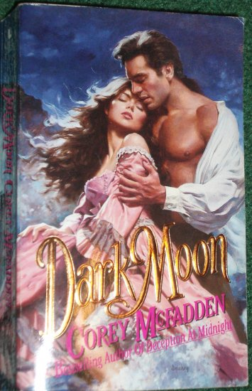 Dark Moon by COREY McFADDEN Historical Georgian Romance 1995
