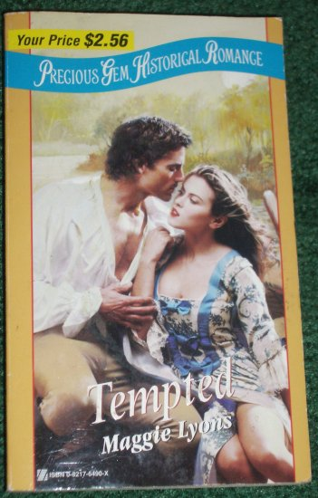 Tempted by Maggie Lyons Precious Gem #34 Historical French Romance 1999