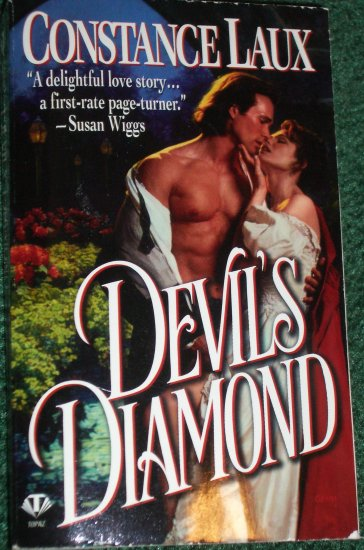 Devil's Diamond by CONSTANCE LAUX Historical English Victorian Romance 1998