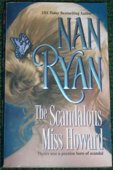 The Scandalous Miss Howard by NAN RYAN Historical Civil War Romance 2002