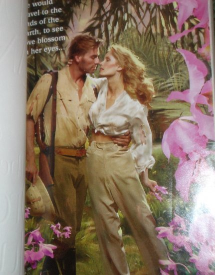 The Orchid Hunter by JILL MARIE LANDIS Historical Victorian Romance 2000