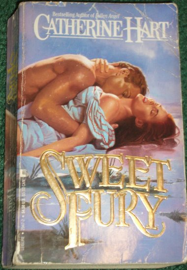 Sweet Fury by CATHERINE HART Historical Western Romance 1990