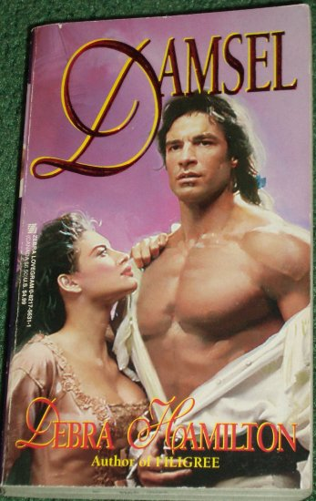Damsel by DEBRA HAMILTON Zebra Lovegram Historical Georgian Era Romance 1997