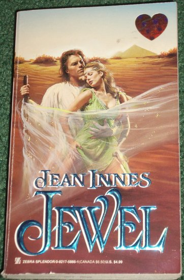 Jewel by JEAN INNES Zebra Splendor Historical Exotic Romance 1998