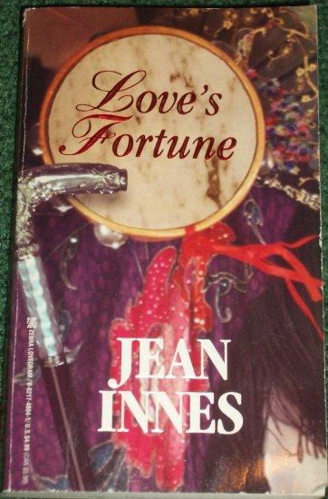 Love's Fortune by JEAN INNES Zebra Lovegram Historical Irish and English Romance 1995