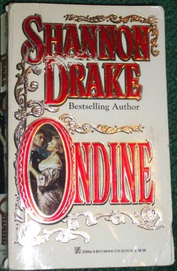Ondine by SHANNON DRAKE Zebra Historical Renaissance Romance 1997