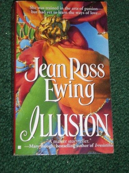 Illusion by JEAN ROSS EWING Historical Regency Romance 1998